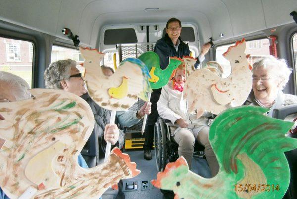 Groepsvervoer Taxi van Kampen