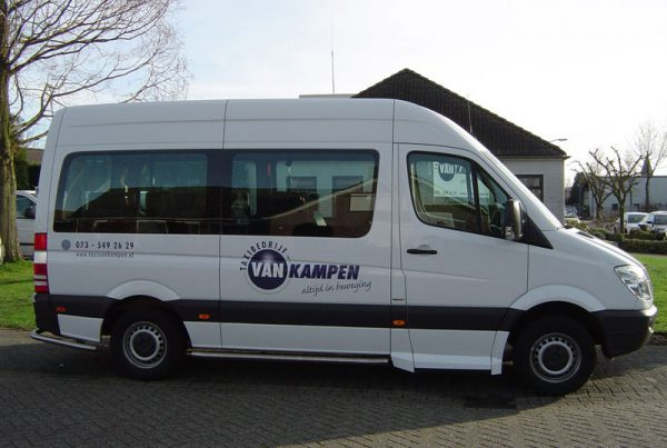 Rolstoelvervoer Taxi van Kampen