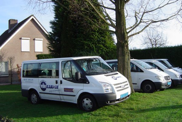 Straattaxi Taxi van Kampen
