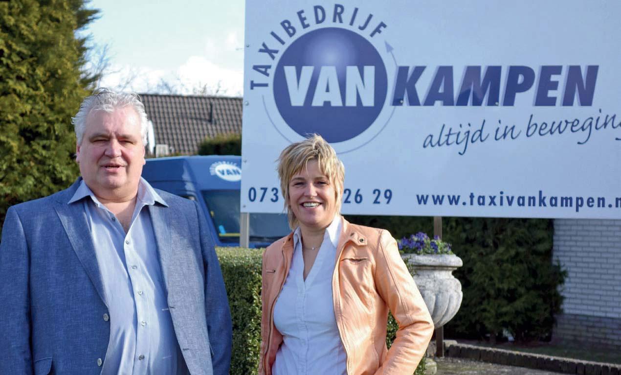 Taxibedrijf van Kampen 50 jaar